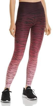 Wear It To Heart Ombré Zebra Print Leggings