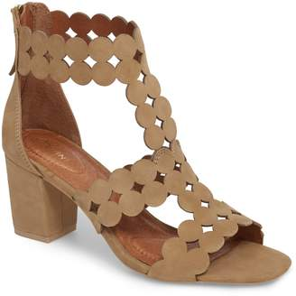 4ee1afd1dd5a Beige Wrapped Heel Women s Sandals - ShopStyle