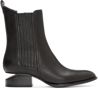 Alexander Wang Black Anouck Ankle Boots $595 thestylecure.com