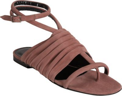 Pierre Hardy Ruched T-Strap Sandal