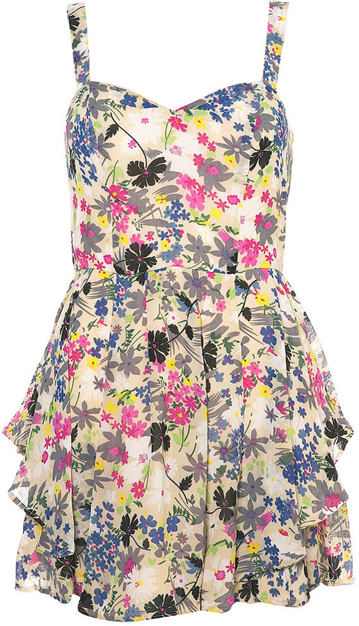 Petite Flower Dress
