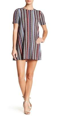 BCBGeneration Printed Aline Yoke Dress