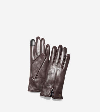 Cole Haan Deerskin Single Point Gloves