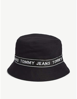 Tommy Hilfiger Logo tape bucket hat