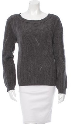 Inhabit Patterned Knit Cashmere Sweater w/ Tags $145 thestylecure.com