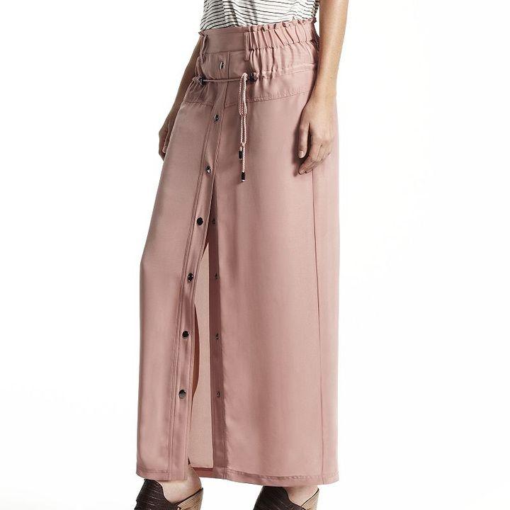 Derek Lam for designation solid maxi skirt