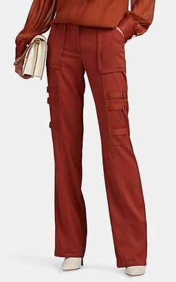 """MANNING CARTELL Women's """"Combat Boot"""" High-Rise Pants - Rust"""