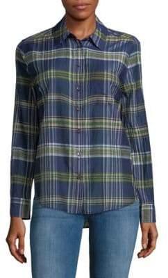 Equipment Plaid Button-Down Shirt