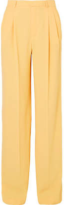 Paul & Joe Noctambul Crepe Wide-leg Pants - Yellow