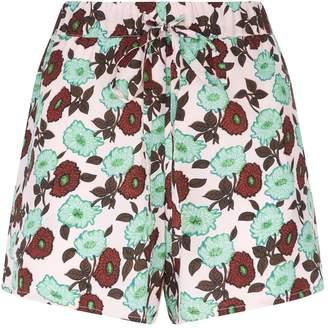Sandro Floral Shorts