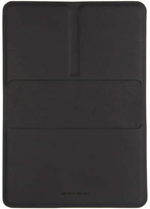 Veilance Black Casing Passport Wallet