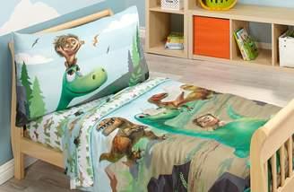Disney Prehistoric Footprints 4 Piece Toddler Bed Set