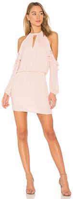 Krisa Ruffle Shoulder Dress