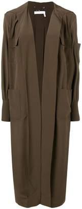 Chloé open front long coat