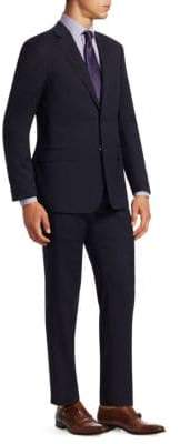 Giorgio Armani Shadow Stripe Two-Piece Suit