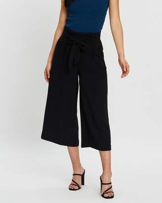 Forcast Mila Tie Waist Culottes