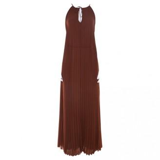 Elizabeth and James Brown Polyester Dresses