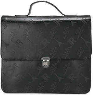 John Richmond Kids embossed satchel backpack