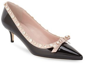Kate Spade New York 'mckayla' Embellished Bow Pump $398 thestylecure.com