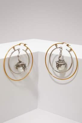 Alexander McQueen Pearl earrings