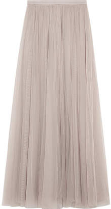 Needle & Thread Tulle Maxi Skirt - Off-white