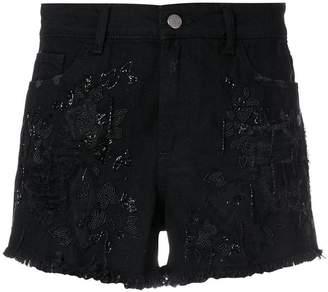 Amen distressed shorts