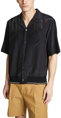 3.1 Phillip Lim Souvenir Shirt with Rib Hem