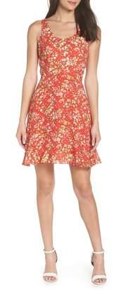 19 Cooper Floral Ruffle Sundress