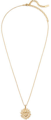 Saint Laurent Gold-tone Necklace