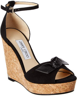 Jimmy Choo Dell Flat Embossed Le... nicekicks cheap online authentic for sale knUydk