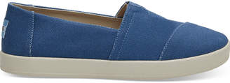 Imperial Blue Coated Canvas Women's Avalon Slip-Ons