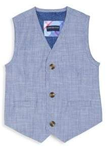 Andy & Evan Toddler's and Little Boy's Two-Piece Chambray Suit Set
