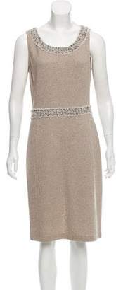 Couture St. John Tweed Sheath Dress w/ Tags