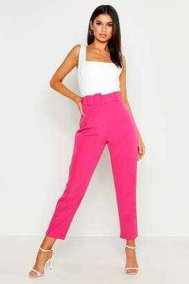 fcb4b7571899 boohoo Pink Wide Leg Trousers For Women - ShopStyle UK