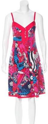 Phi Printed Sweetheart Dress w/ Tags