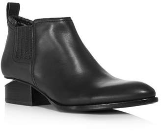 Alexander Wang Women's Kori Pointed Toe Leather Ankle Boots