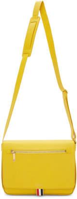 Thom Browne Yellow Reporter Bag