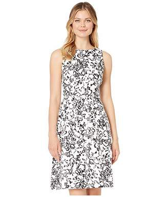 Lauren Ralph Lauren Folade Sleeveless Day Dress