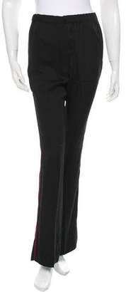 Piamita Silk Straight-Leg Trousers w/ Tags