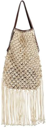 J.W.Anderson Hand Made Net Shoulder Bag W/ Pouch