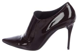 Valentino Patent Leather Pointed-Toe Booties Patent Leather Pointed-Toe Booties