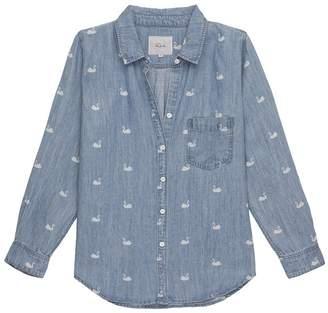 Rails Ingrid Print Denim Shirt