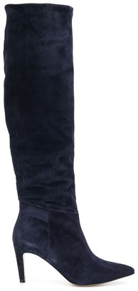 Parallèle knee-length boots