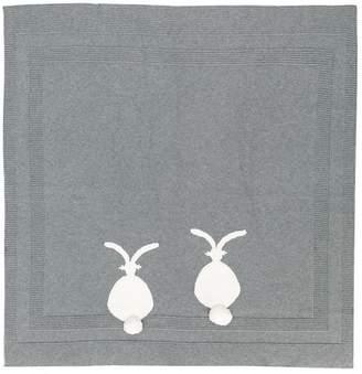 Stella McCartney bunny knitted blanket