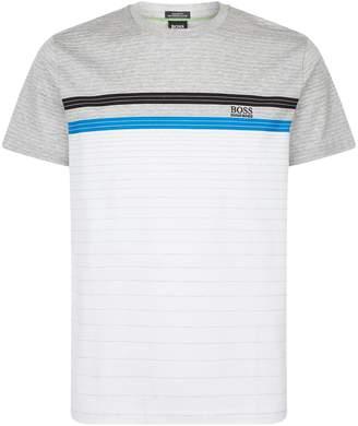 HUGO BOSS Multi-Coloured Stripe T-Shirt