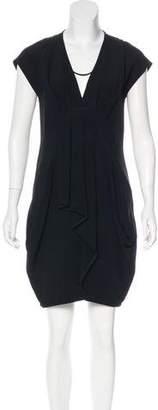 Miu Miu Sleeveless Pleated Dress