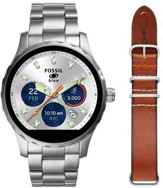Fossil Q Gen 2 Marshal Limited Edition Cory Richards Stainless Steel and Leather Touchscreen Smartwatch Set