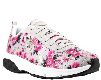 Therafit Fashion Fabric/Suede Athletic Shoes -Paloma