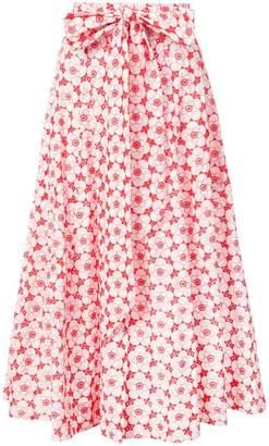 Lisa Marie Fernandez floral beach skirt