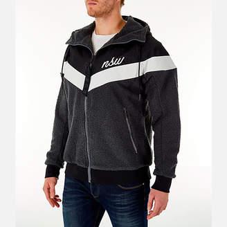 Nike Men's Sportswear Sherpa Windrunner Full-Zip Jacket